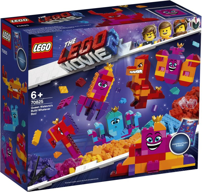 LEGO Movie 2 Queen Watevra's Build Whatever Box! (70825)
