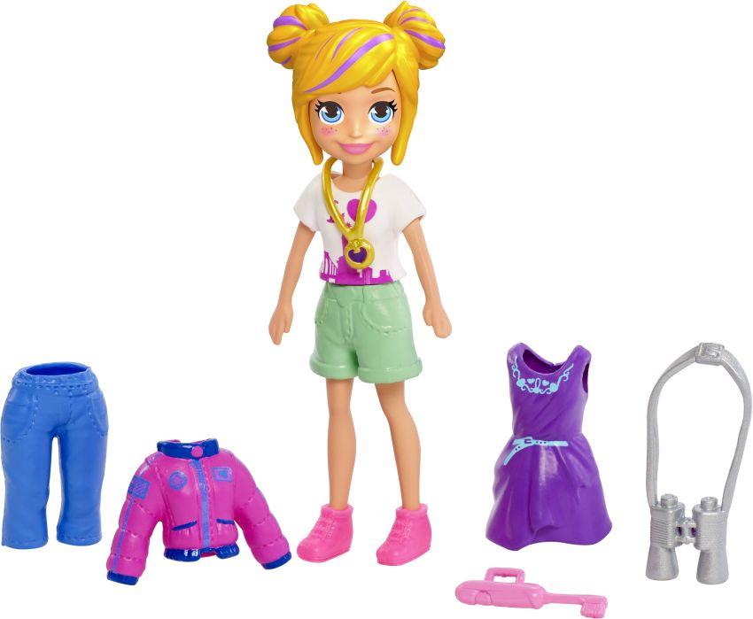 Polly Pocket Κούκλα Με Ρούχα-2 Σχέδια (GDM01)