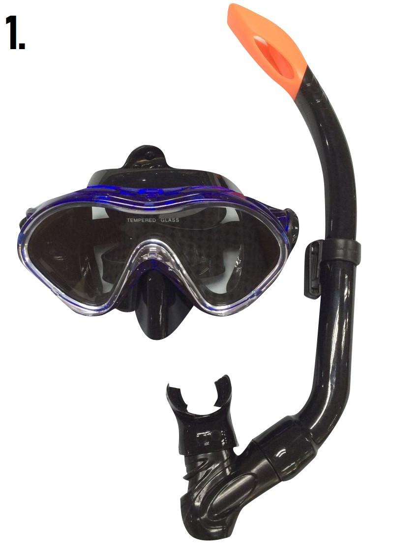 Μάσκα Θαλάσσης με Αναπνευστήρα Εφηβική (03.MS-9620P)
