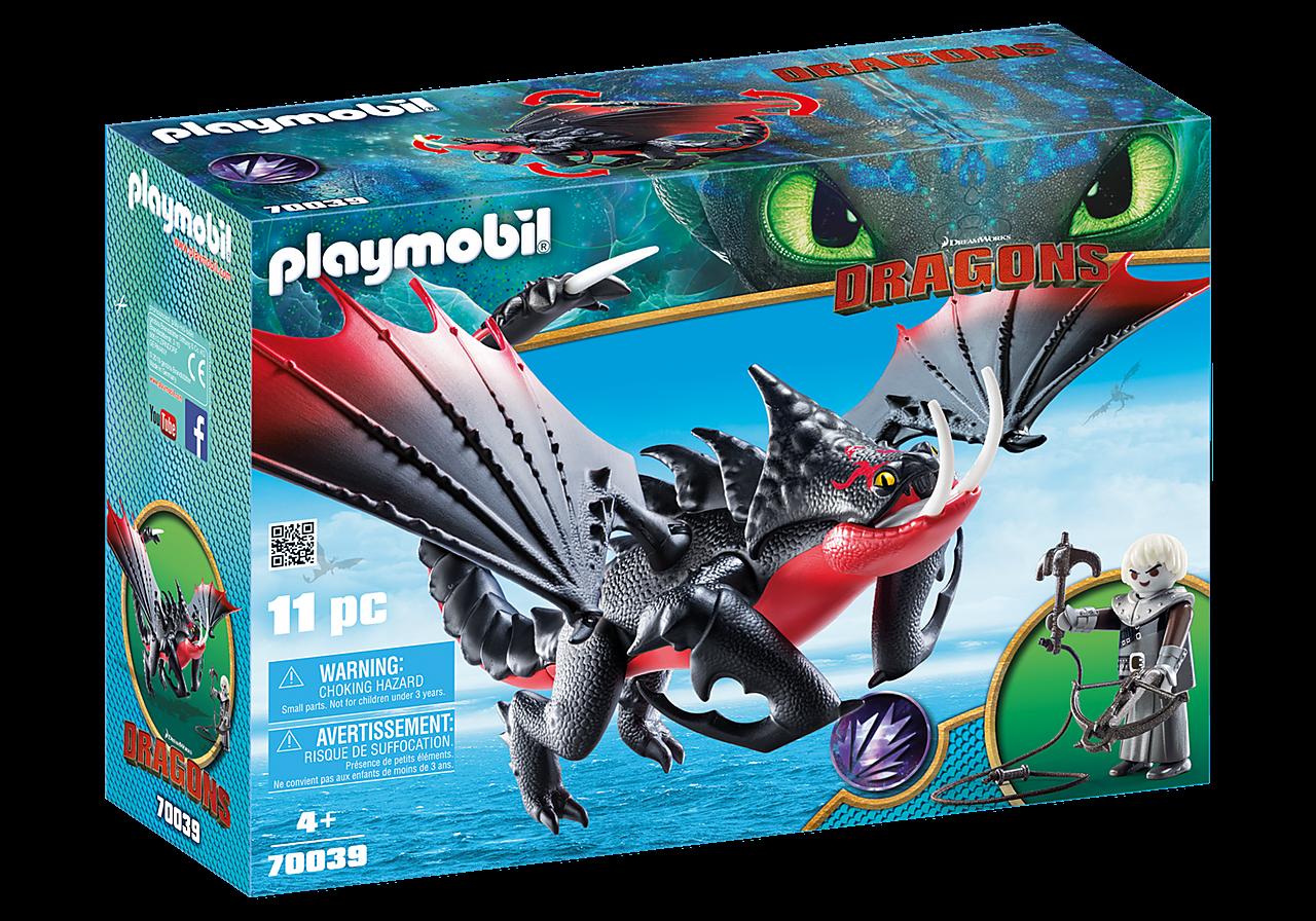 Playmobil O Θανατοδάγκανος και ο Γκρίμελ (70039)
