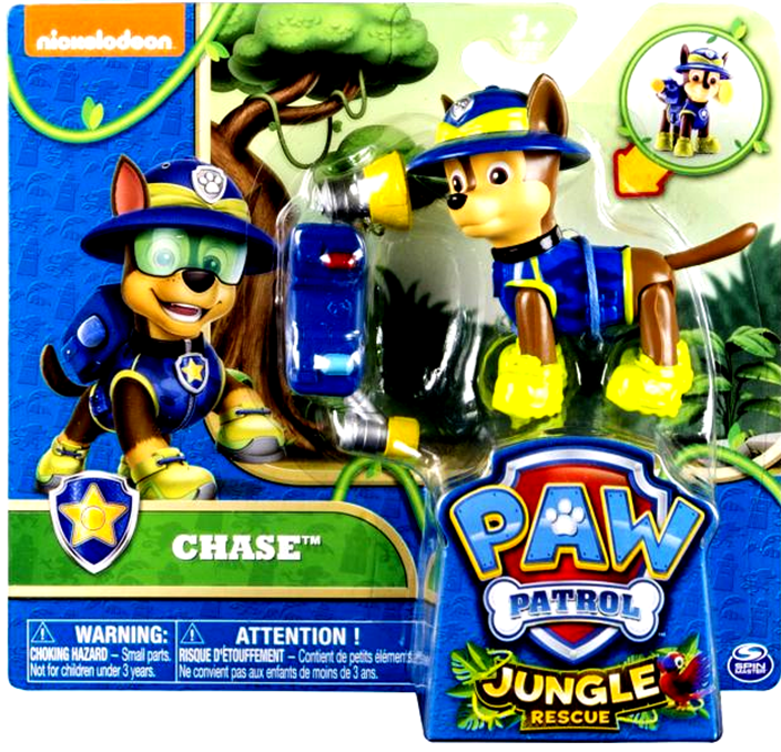 Paw Patrol Κουταβάκια Σε Δράση Jungle (6 Σχέδια) (PWP52000)