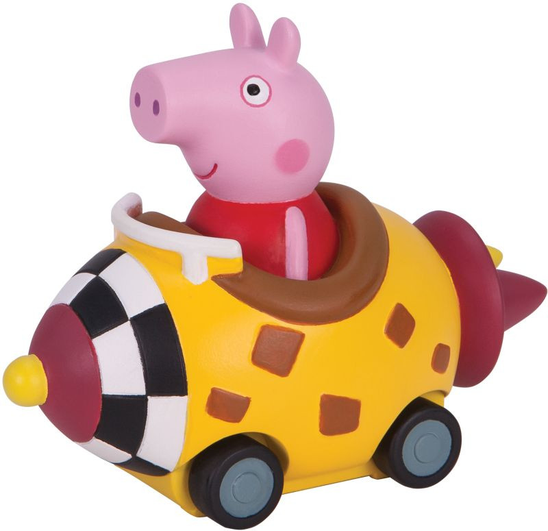 Peppa Pig Μίνι Οχηματάκια (4 Σχέδια) (PPC24000)