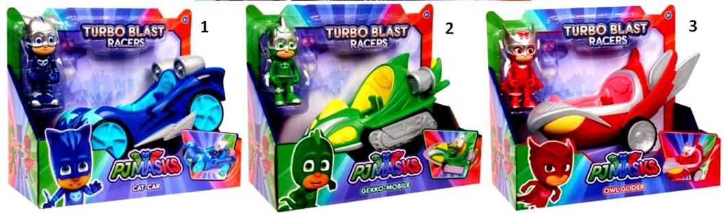 PJ Masks Vehicle Turbo Blast (3 Σχέδια) (PJM44000)
