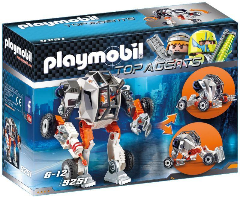 Playmobil Ρομπότ Του Πράκτορα Τεκ (9251)