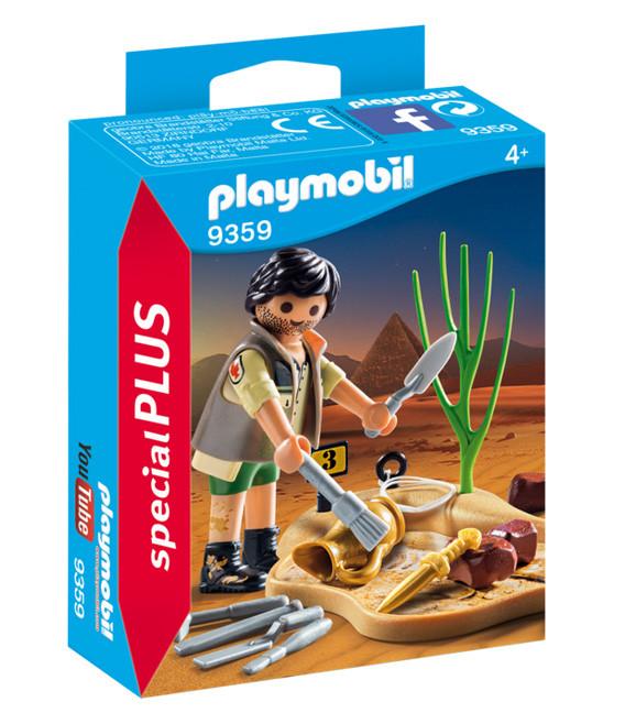 Playmobil Αρχαιολόγος με Εργαλεία Ανασκαφής (9359)