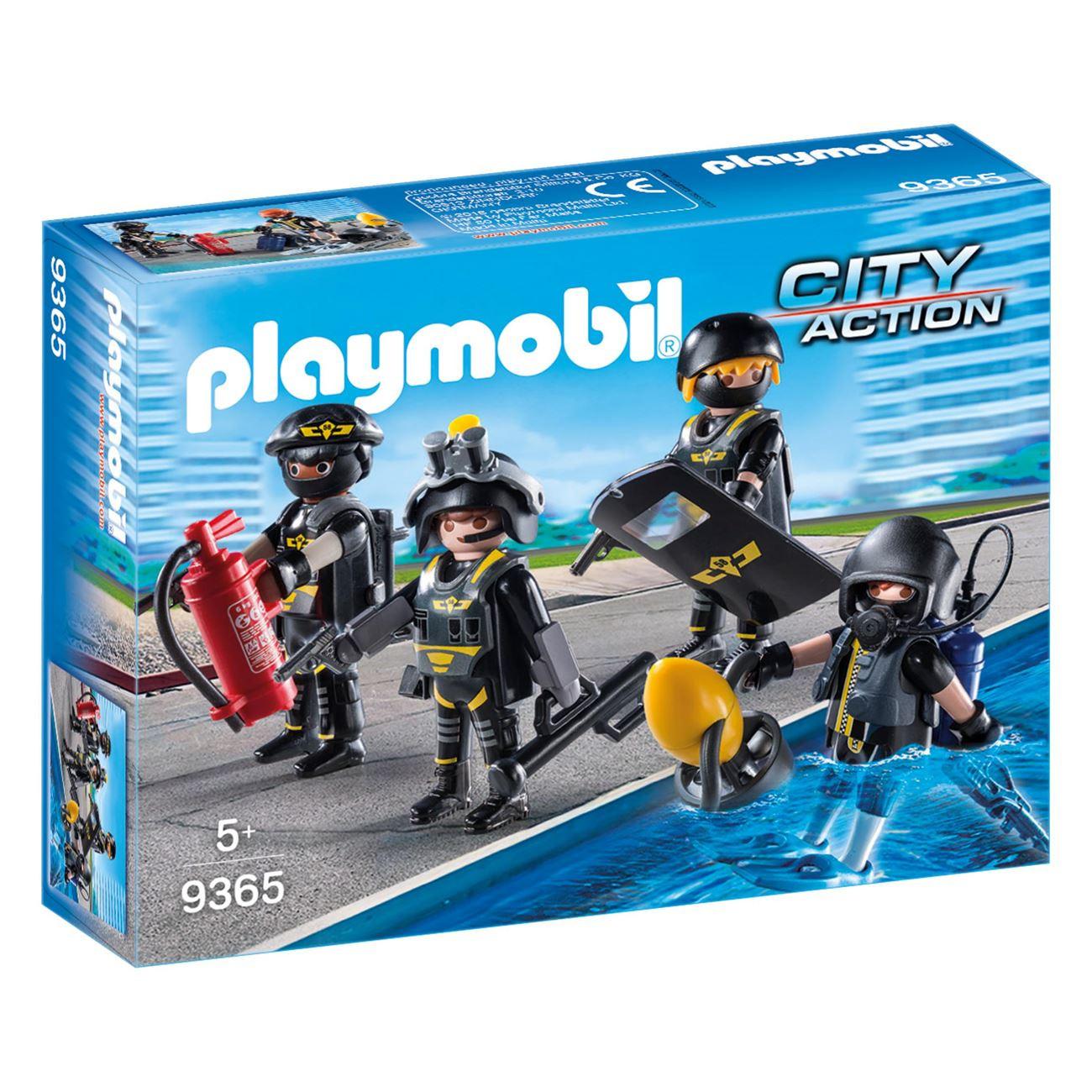 Playmobil Ομάδα Ειδικών Αποστολών (9365)