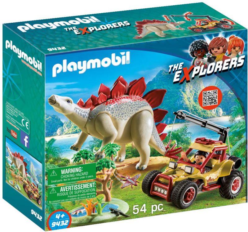 Playmobil Εξερευνητικό 'Οχημα & Στεγόσαυρος (9432)