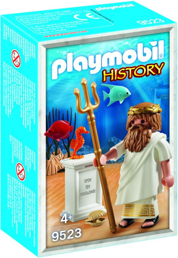Playmobil Θεός Ποσειδώνας (9523)