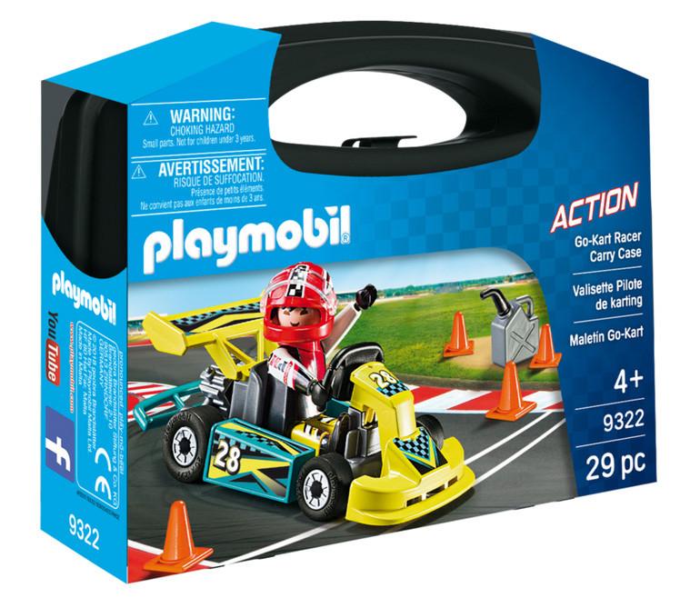 PLAYMOBIL ACTION ΒΑΛΙΤΣΑΚΙ GO-KART (9322)