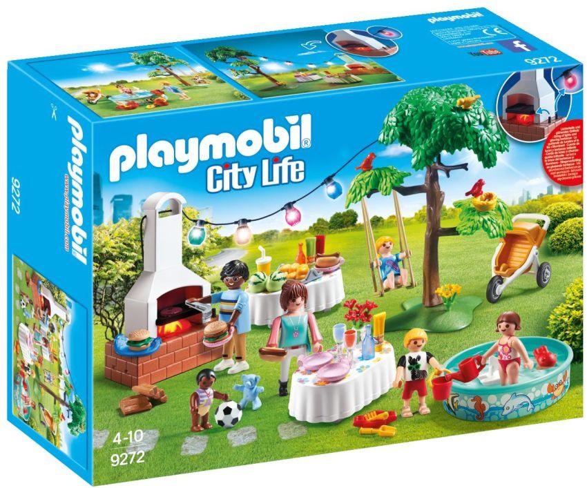 Playmobil CITY LIFE Πάρτυ Στον Κήπο Με Barbeque (9272)