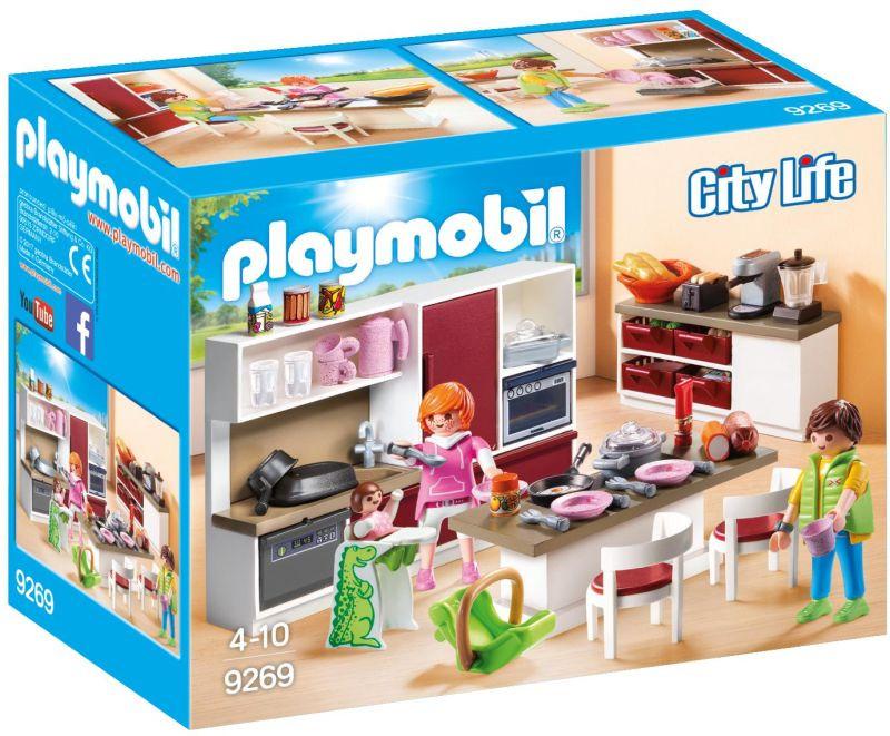 Playmobil CITY LIFE Mοντέρνα Κουζίνα (9269)