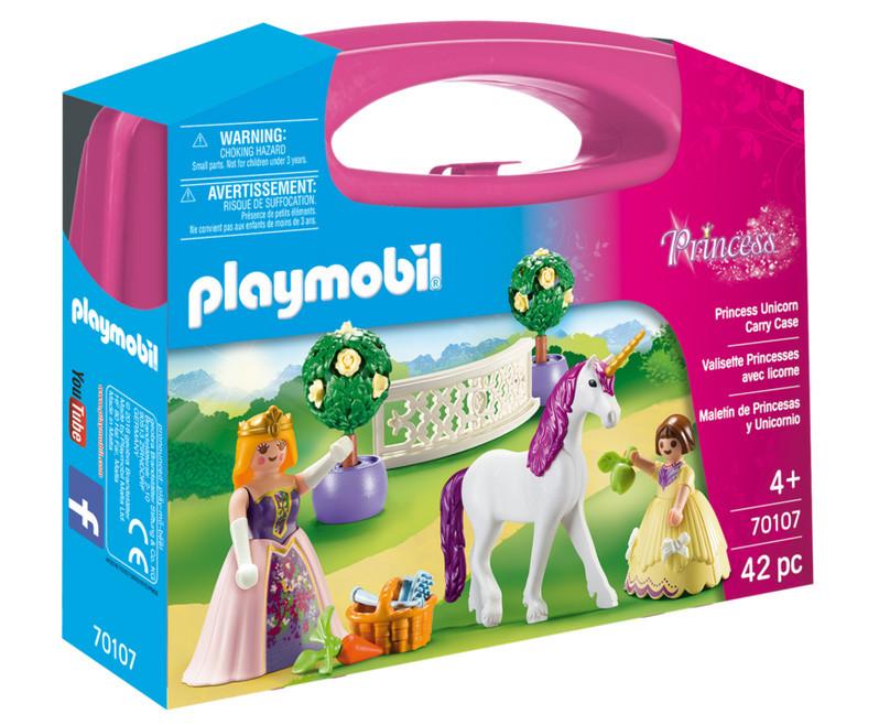 Playmobil Maxi Βαλιτσάκι Πριγκίπισσα με άλογο (70107)