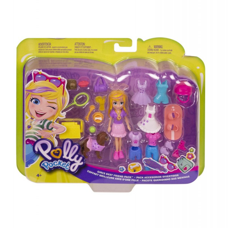 Mattel Polly Και Φίλοι Με Αξεσουάρ - Girls Best Friend Pack GBF85 / GFP85