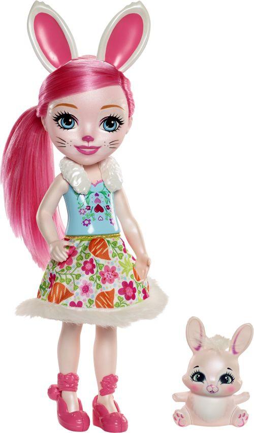 Enchantimals Μεγάλη Κούκλα-3 Σχέδια (FRH51)