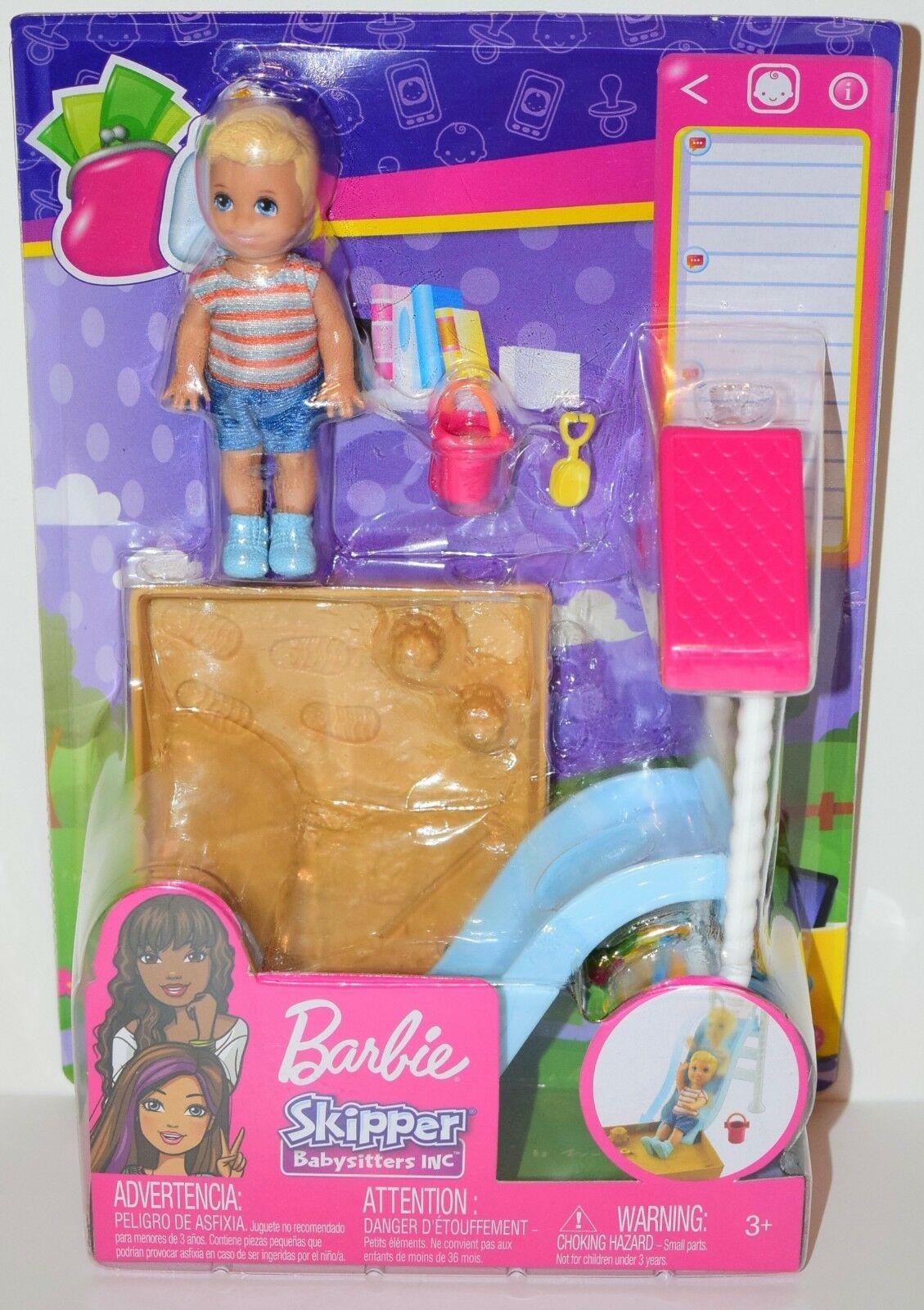 Barbie Skipper Babysitters Αξεσουάρ - 3 Σχέδια (FXG94)
