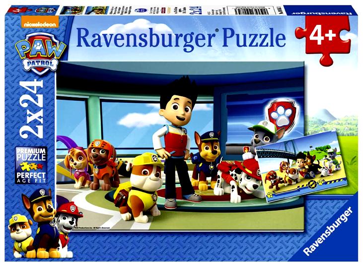 Ravensburger Παζλ 2χ24τεμ. Paw Patrol (09085)