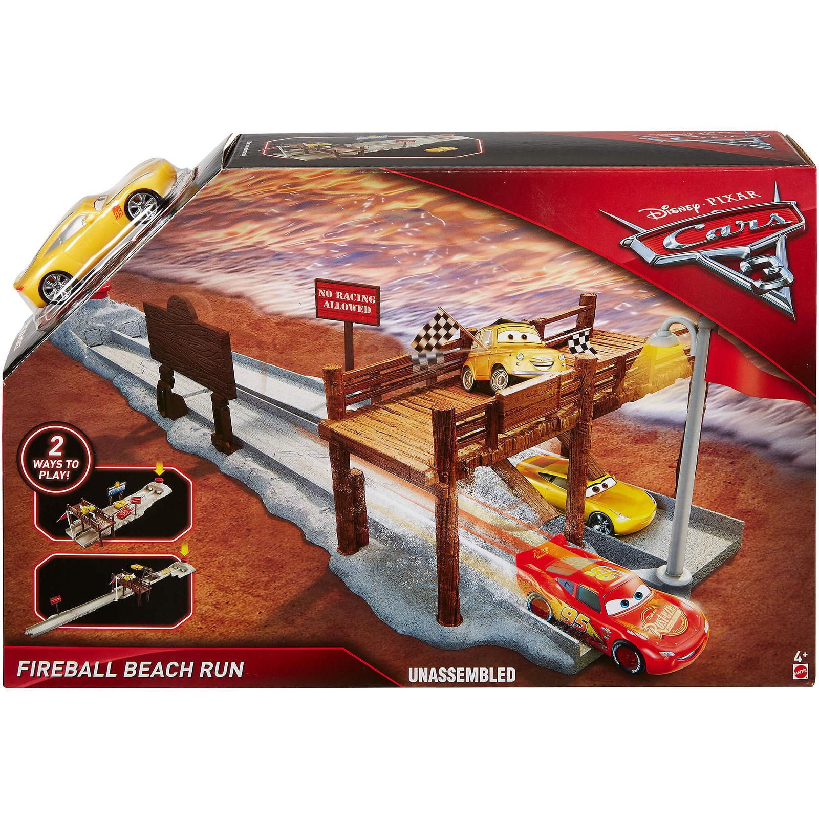 Cars 3 - Fireball Beach Run Playset (DVT47)