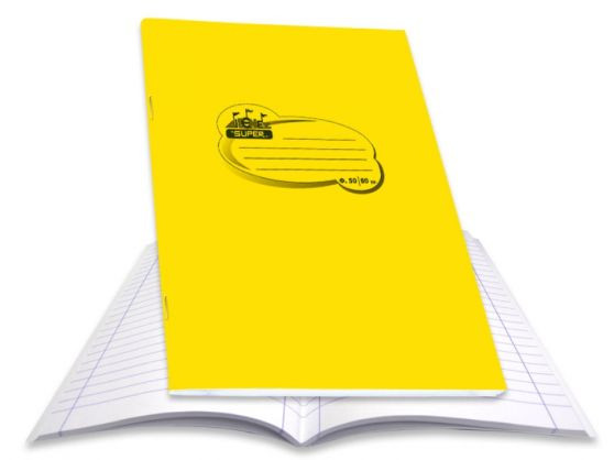 Skag Τετράδιο Κίτρινο P.P 50 Φύλλων (222310)