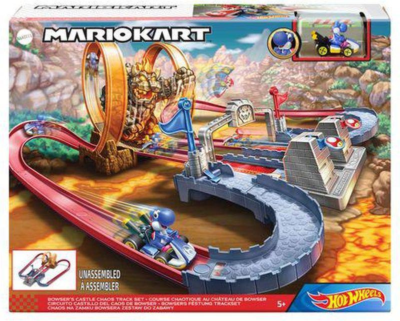 Hot Wheels Mario Kart Το Κάστρο Του Μπάουζερ Πίστα (GNM22)