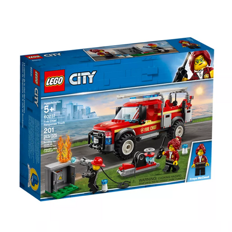 LEGO City Fire Chief Response Truck (60231)