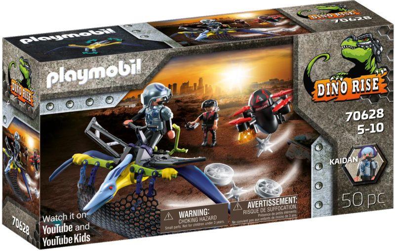 Playmobil Dino Rise Πτεροδάκτυλος Και Μαχητές Με Drone (70628)