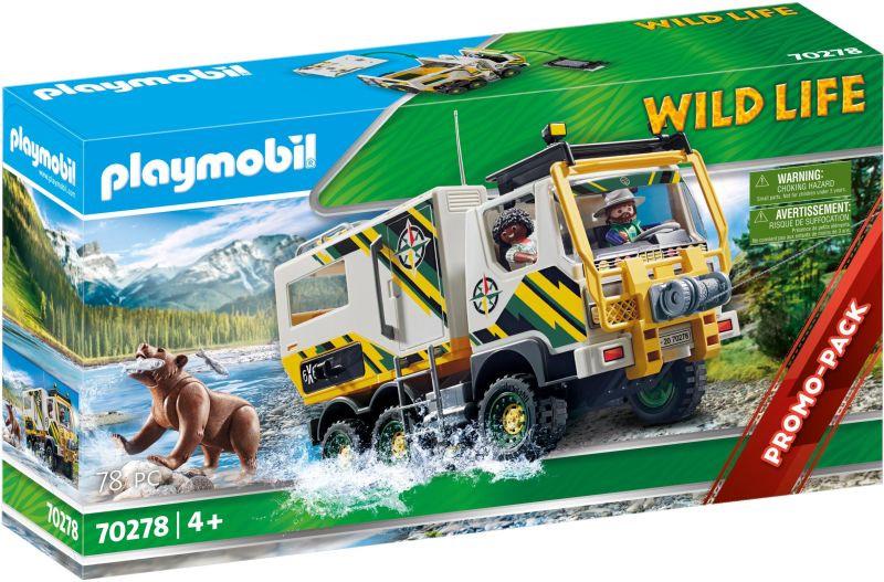 Playmobil Wild Life Εξερευνητικό Όχημα (70278)