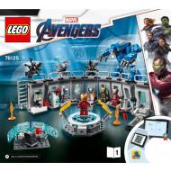 Lego Iron Man Hall of Armor (76125)
