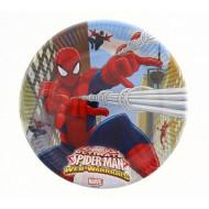 Πιάτα Spiderman Web Warriors Μεγάλα 23cm 8Τμχ (85151)