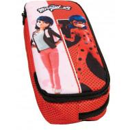 Ladybug Marinette Κασετίνα Οβάλ (346-04144)