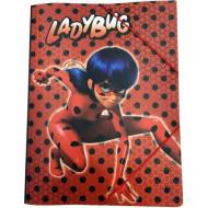 Ladybug Ντοσιέ Λάστιχο A4 PP (346-04515)