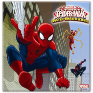 Χαρτοπετσέτες Spiderman 2φυλλες 33x33 20τμχ. (85154)