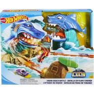 Hot Wheels Σετ Παιχνιδιού Μάχη Με Τον Καρχαρία (FNB21)