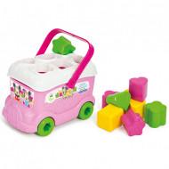 Disney Baby Λεωφορειάκι με Σχήματα Minnie(1000-14933)