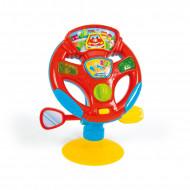 AS Baby Clementoni Βρεφικό Παιχνίδι Τιμόνι Κέντρο Δραστηριοτήτων(1000-17241)