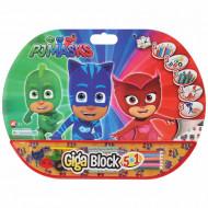 Σετ Ζωγραφικής Giga Block 5 σε 1 PJ Masks (1023-62711)