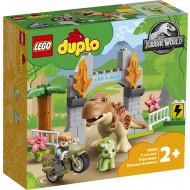 10939 DUPLO T. Rex και Triceratops Dinosaur Breakout