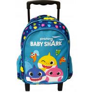 Baby Shark Σακίδιο Νηπιαγωγείου Trolley (334-64072)