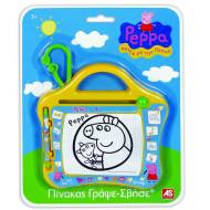 Peppa Pig Πίνακας Γράψε Σβήσε Travel Πέππα το γουρουνάκι