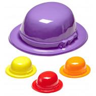 """""""BOWLER HAT"""" 4 colors ass"""