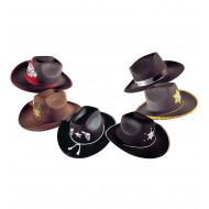 """""""COWBOY HAT"""" felt - 6 styles ass."""