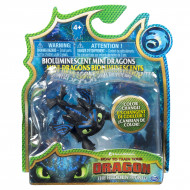 Spin Master - How to Train Your Dragon Mini Dragons Figures - Flying Black Dragon (20104707)
