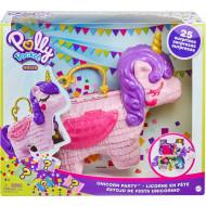 Polly Pocket Polly Μονόκερος Πινιάτα Έκπληξη Σετ (GVL88)