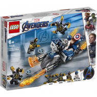 LEGO Captain America: Outriders Attack (76123)