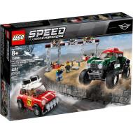 LEGO SPEED ΑΥΤΟΚΙΝΗΤΟ 1967 MINI COOPER S RALLY & 2018 MINI JOHN COOPER WORKS BUGGY (75894)