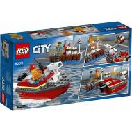 LEGO City Πυρκαγιά Στην Αποβάθρα  60213
