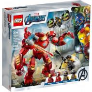 LEGO Marvel Avengers Iron Man Hulkbuster Vs. A.I.M. Agent 76164