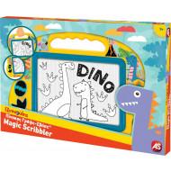 As Πίνακας Γράψε Σβήσε Baby Dinosaur Μεσαίος 1028-12264