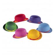 """""""BOWLER HAT"""" felt - 6 colors ass."""