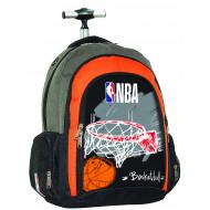 NBA Red Basket Σακίδιο Trolley (338-41074)