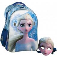 Frozen II Elsa Mask Σακίδιο Oβάλ (341-64031)